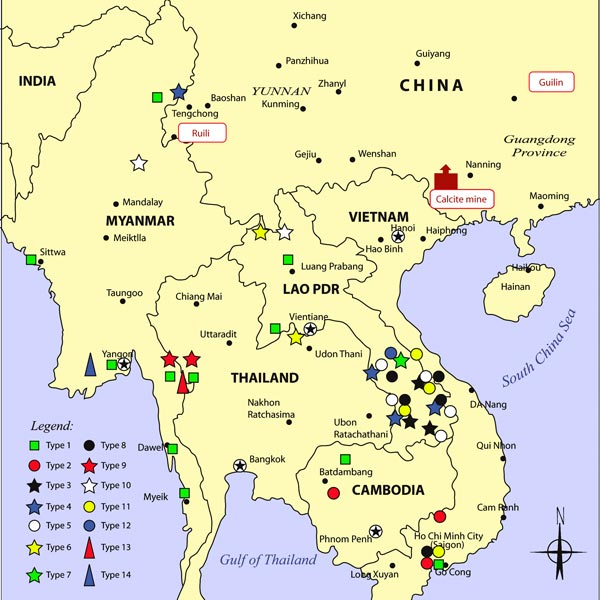 Counterfeit Artesunate Map
